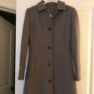 J.Crew Lady Day Coat in Gray